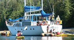 Haida Gwaai, Queen Charlotte Islands