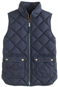 J.Crew Excursion quilted vest on shopstyle.com