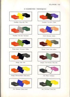 Manuel Theoretique et Pratique D'Etalagisme_ Academic Art, Painted Boards, Palette, Love Art, Coloring Books, Inspiration Design, Color Charts, Display, Painting