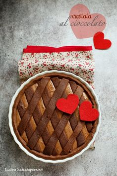 Crostata al cioccolato   Cucina Scacciapensieri I Foods, Chocolate, Tiramisu, Goodies, Food And Drink, Sweets, Biscotti, Cooking, Cake