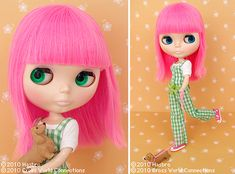 """Pink hair. Wiener dog. Chucks. Neo Blythe """"Simply Guava"""" -- my wonderful husband surprised me with her 2 years ago!"""