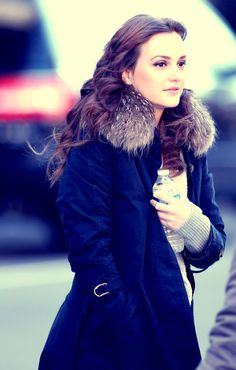 Leighton Meester in Leighton Meester and Penn Badgley Film 'Gossip Girl' 2