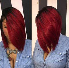 Beautiful bob via @beautified_by_thi - Black Hair Information Community