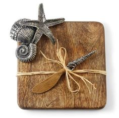 Starfish Cutting Board Set   Living   Mud Pie