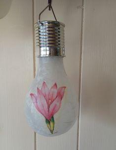 Solar Light Bulb, Solar Lights, Mason Jar Lamp, Facebook Sign Up, Decoupage, Table Lamp, Lamp Table, Solar Lanterns, Table Lamps