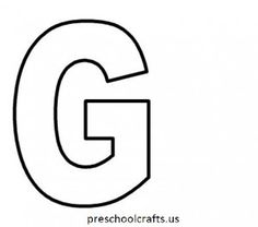 8 best Letter G Coloring Pages images on Pinterest   Printable ...