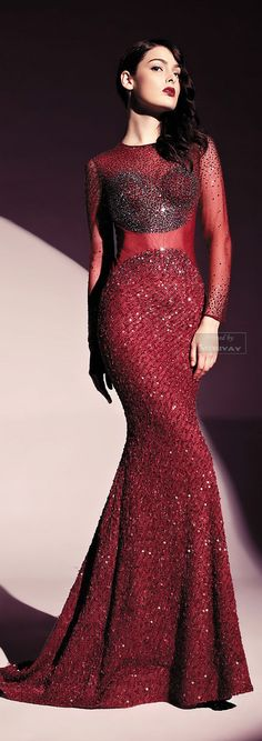 Dany Tabet  Scenario Reading.Haute Couture.2013-2014. http://es.pinterest.com/meriyay/fashion-dresses/