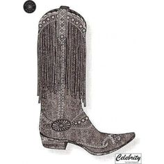 Prescott Fringed Boots   FALL 2012 Collection (sketch)