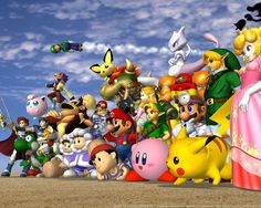 Super Smash Bros. Melee Wallpaper (1280 x 1024 Pixels)
