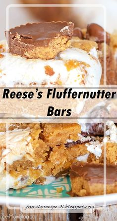 Reese's Fluffernutter Bars - Food Recipes Peanut Butter Cheesecake, Peanut Butter Cups, Chocolate Peanut Butter, Easy Teriyaki Chicken, Fun Size, Size 2, Homemade Popcorn, Easy Thanksgiving Recipes, Brownie Ingredients