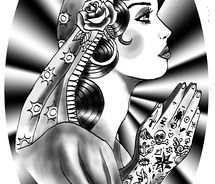 Image Result For Mary Magdalene Tattoo Mary Magdalene Tattoo