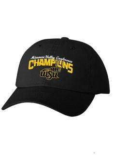 Wichita State (WSU) Shockers `14 MO Valley Conference Champs Adjustable Hat | WSU Shockers Adjustable Hat http://www.rallyhouse.com/wichita-state-shockers-mens-black-14-mo-valley-conference-champs-adjustable-hat-8090155?utm_source=pinterest&utm_medium=social&utm_campaign=Pinterest-WSUShockers $24.00