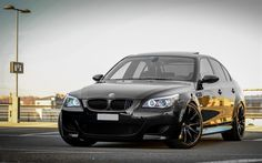 bmw m5, e60, black bmw, tuning e60, tuning m5, sedan, black wheels