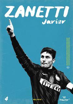 Javier Zanetti - Inter de Milán - ❹ - #ElTractor
