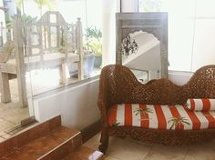 MY/CG - My Caribbean Gateway features one of the Trinidad & Tobago issue partners, the chic Bacolet Beach Club in Tobago Beach Club, Trinidad And Tobago, Caribbean, Garden Ideas, Home And Garden, Couch, Places, Furniture, Home Decor