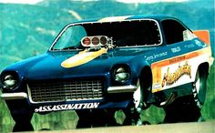 Assassination vega funny car