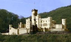 Stolzenfels Castle outside Koblenz, Germany In 6 weeks...