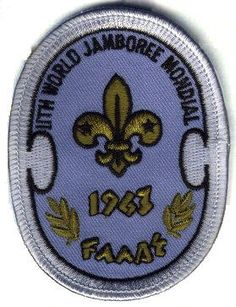 """11th World Scout Jamboree – 1963 Greece / Grecia """"Higher and Wider"""" 14,000 participants."""