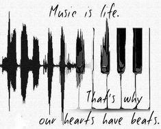 New Music Tattoo Quotes Lyrics Truths Ideas I Love Music, Music Is Life, New Music, Good Music, Music Drawings, Cool Drawings, Music Tattoos, Life Tattoos, Neck Tatto