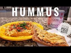 RECETA EXPRESS: HUMMUS RIQUISIMO y SUPER FACIL   (poco aceite) - YouTube Tostadas, Hummus, Macaroni And Cheese, Ethnic Recipes, Youtube, Armenia, Food, Dressings, Dips