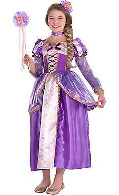 Disney Princess Rapunzel//Merida//Sleeping Beauty Costume Dress-SZ 4-6X