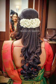 Trendy Vintage Wedding Makeup Bridal Looks Hairstyles 28 Ideas Saree Hairstyles, Indian Wedding Hairstyles, Bride Hairstyles, Easy Hairstyles, Bridal Hair Buns, Bridal Hairdo, Bridal Makeup Looks, Wedding Makeup, Bridal Beauty