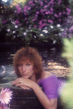 Barbra Streisand, One Image, Flower Images, Purple Flowers, Order Prints, Mario, Portrait, Headshot Photography, Portrait Paintings