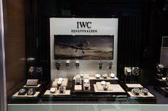 Bortolin Gioielli Udine - le nostre vetrine #gioielli #orologi #IWC. Visita il nostro sito www.bortolingioielli.it