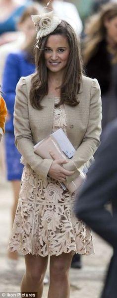 "Philippa ""Pippa"" Charlotte Middleton (1983-living2015) UK, sister of Catherine ""Kate"" Elizabeth Middleton (1982-living2015) UK, wife of Prince William (1982-living2015) UK."