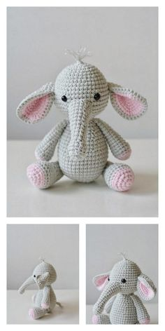 Amigurumi Little Elephant Free Pattern – Amigurumi Free Patterns And Tutorials