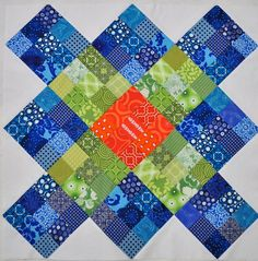 Ginormous Granny Square Quilt.. by Diane, From Blank Pages...