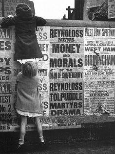 Reynolds's News. Money and Morals Photograph: Dora Maar