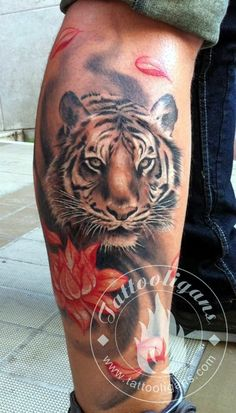 Tiger Tattoo Designs (8)                                                       …