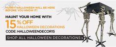 15% off on Halloween Decor and Party Supplies  HalloweenCostumes http://www.planetgoldilocks.com/halloween/costumes.html    20% off on Kid's #Costumes #coupon: bckids20 4#halloween ##shopping #kidscostumes #buycostumes
