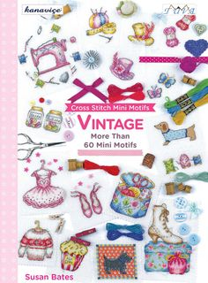 Vintage Cross Stitch Mini Motifs Book by CrossStitchSusie on Etsy for £8.99 (plus postage).