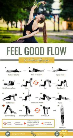 I've created this short and gentle yoga routine for precisely those days when you think you're just too exhausted to step on the yoga mat. It includes some juicy lateral, lower body and upper body stretches that will make you feel 'oh so good.'<br> Yoga Fitness, Physical Fitness, Health Fitness, Fitness Memes, Fitness Logo, Mens Fitness, Upper Body Stretches, Yoga Position, Yoga Kundalini
