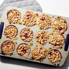 For Easy Mornings, Make This Healthy Hand-Held Baked Oatmeal