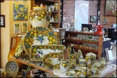 sicilian pottery | Italian Pottery Outlet, the ideal place to take Mom for Mother's Day ...