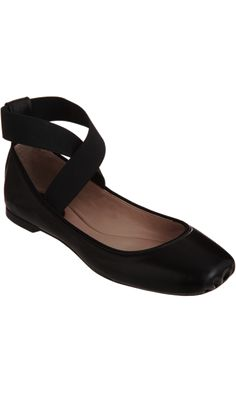 Chloé Square Toe Ballerina Flat - simply a MUST have. must!  dear husband, i am so sorry, but they finally have my size in stock.