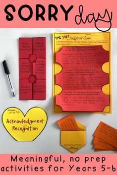 National Sorry Day: Reconciliation Activity Pack-Years 5 & 6 (Distance Learning) Aboriginal Children, Aboriginal Education, Indigenous Education, Aboriginal People, Aboriginal Art, School Resources, Teaching Resources, Teaching Ideas, Educational Activities