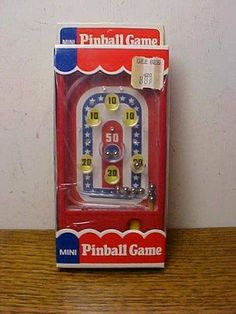 Vintage toy pinball game | Antique Toys Price Guide