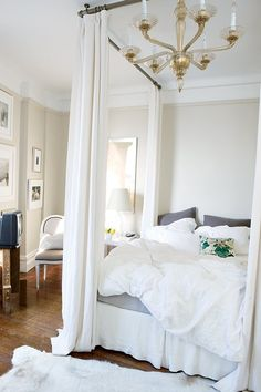 Clever Ways to Use Curtain Hardware That Have Nothing to Do With Windows | Apartment Therapy