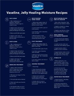 Fashion of Philly: DIY Skin Treatments with Vaseline Jelly