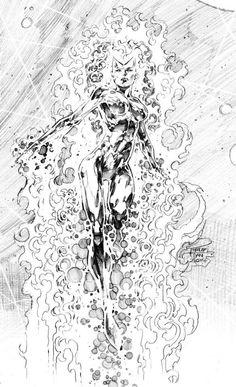 Marvel, Wonder Woman, Batgirl, and More - Comic Vine Comic Book Artists, Comic Artist, Comic Books Art, Comic Book Drawing, Gravure, Illustrations, White Art, Batman, Amazing Art