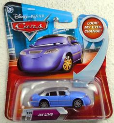 Disney / Pixar CARS Movie 155 Die Cast Car with Lenticular Eyes Series 2 Jay Limo by Mattel. $15.95. 1:55 Diecast. Jay Limo