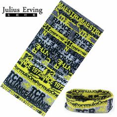 Julius Erving 100% Polyester Microfiber Tubular Bandana Neck Scarf Fashion Luxury Skull Head Bandana Men Face Mask Unisex #Affiliate