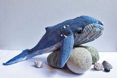 Humpback Whale No. 18 - Soft Sculpture