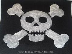 bandera pirata pintada