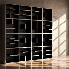 """READ YOUR BOOKCASE"" Coolest bookshelf that ever was."