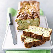 Pan de queso y calabacín